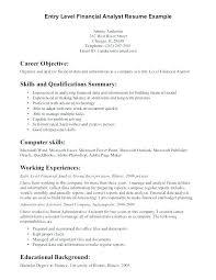 Senior Financial Analyst Resume Sample Example Of Finance Resume Financial Analyst Resume Examples