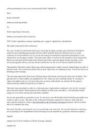 Complaint Letter Examples Samples With Regard To Response To Hr ...