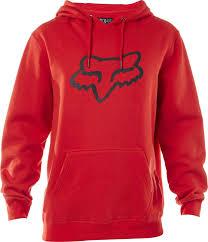 fox racing legacy foxhead pullover hoody flame red front elegant mens hoos 1