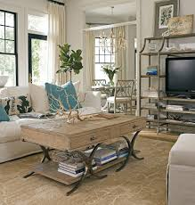 Decorations:Beach House Cottage Decorating Idea With Bamboo Window Blinds  And Rustic Dining Set Shabby