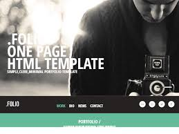 Top Free And Premium Photography Templates Free Website