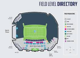 Centurylink Field Seating Chart Seahawks Stadium Maps Centurylink Field Centurylink Field