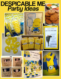 Despicable Me- Minion Party Ideas
