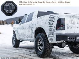 2014 Ram 1500 Bolt Pattern New PML Differential Cover For Dodge Ram 48 Dakota And Durango
