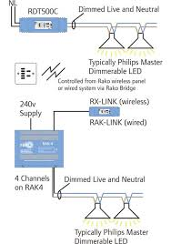 rako rdf800 c ceiling light dimmer 0 10v fluorescent rako wireless rako wireless lighting rdt500 c rf trailing edge dimmer ceiling in line rako