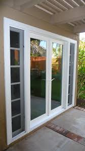 patio doors with sidelights