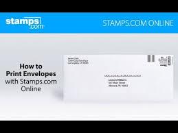 How To Print Envelopes Stamps Com Online