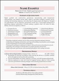 Customer Service Resume Skills New Career Objectives Resume