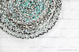 braided t shirt rug 14 diy tshirt rug