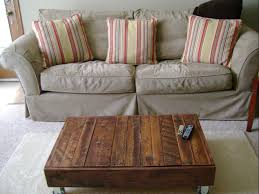 coffee table diy pallet coffee table plans ottoman with storage