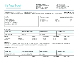 Custom Invoice Format Cargo Receipt Template Custom Invoice Travel Invoices Agency