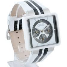 cream white leather mens fashion watch dw0066 d g cream white leather mens fashion watch dw0066