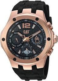 CAT Watches Men's Navigo Stainless Steel Analog-Quartz Watch ...