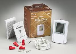 easy heat warm tiles thermostat kits oj electronics and honeywell aube kits heated floor thermostat h72