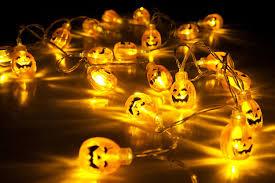 halloween lighting ideas. Amazon.com : Velice Battery Operated LED Fairy String Lights 3D Pumpkin 20 Halloween Christmas Decoration (Pumpkin Light) Garden \u0026 Lighting Ideas F