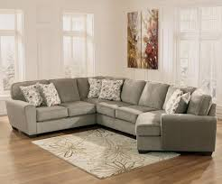 small sectional with chaise. Ashley Furniture Patina 4-Piece Small Sectional With Right Cuddler - Item Number: 1290055 Chaise N