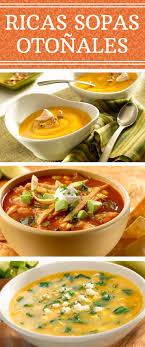 Nada como unas ricas sopas otoñales con nuestros sabores latinos pruébalas y decide cuál
