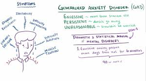 doctors note for stress and anxiety generalized anxiety disorder gad mental health disorders merck
