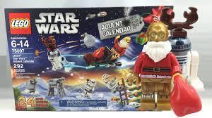 Lego Star Wars 2015 Advent Calendar Review 75097 Youtube