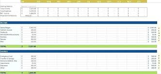 How To Use Excel For A Budget Monthly Excel Budget Template Wsopfreechips Co