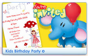 Personalised Birthday Invitations For Kids Moonpig Personalised Invitation Announcement Cards All Occasions