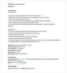 ... Nice Design Ideas Android Developer Resume 13 Sample Android Developer  Resume ...