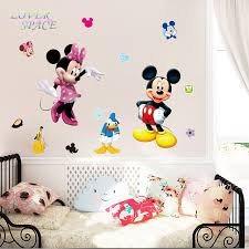 mickey mouse bedroom wall stickers