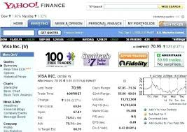 Yahoo Stock Quote