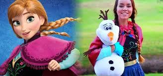 diy princess anna costume makeup from disney s frozen