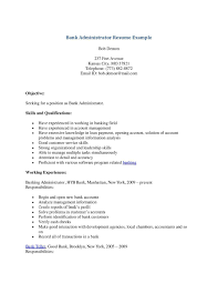 Bank Teller Resume Objective Template Design