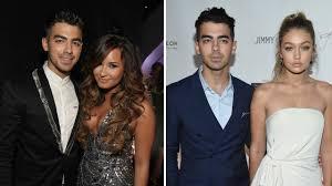 Joe Jonas Picks Between Taylor Swift, Demi Lovato, and Gigi Hadid ...