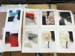 last week i spent three days making prints in the chicago studio of jeff hirst