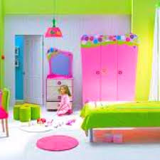 My little girls room has to look like this! - Cute neon room