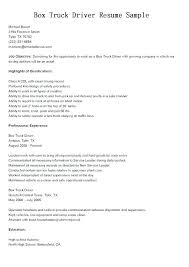 Route Driver Job Description Route Driver Resume Driver Resume