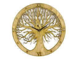 Tree Design Tree Design Laser Cut Clock