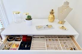 the only 2 jewelry storage ideas you need organization tips for jewelry architectural digest