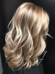 Hair Beauty Blonde Highlights Blonde Dimensional