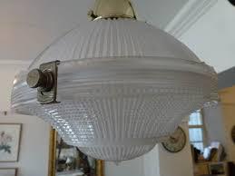 original holophane glass pendant and brass ceiling lights at staveley antiques holophane pendant light