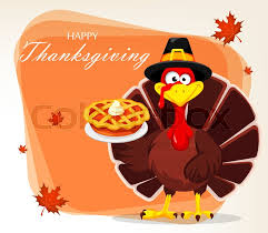 Thanksgiving Greeting Card With A Stock Vector Colourbox