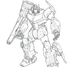 Transformer Bumblebee Coloring Pages Transformers Coloring Page