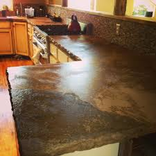 concrete countertop installation by experienced concrete countertop specialists