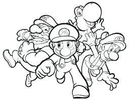 Paper Bowser Coloring Pages Unique Mario Bros Bowser Coloring Pages