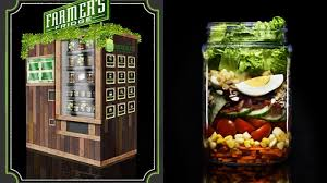 Salad Vending Machine Chicago Classy Check Out This Healthy Eats Vending Machine Made From Reclaimed Wood