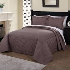 american traditions french tile quilted taupe queen bedspread