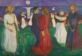 artwork image edvard munch livets dans the dance of life