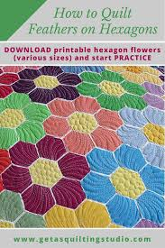 How to quilt hexagons- easy way to quilt hexagon quilts & Hexagon quilts are more and more popular, let's learn an easy way to quilt  hexagons. Adamdwight.com