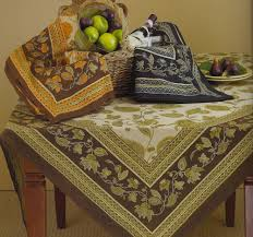 image of williams sonoma french country tablecloth