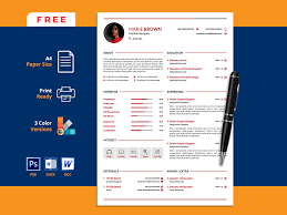 Free Infographic Cv Template By Andy Khan On Dribbble