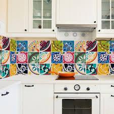 moroccan kitchen tiles uk. colourful moroccan tile stickers set pack of 24 - bathroom kitchen tiles uk o