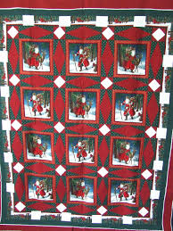 Vintage Table-Cloth Christmas Quilt. | Tim Latimer - Quilts etc & I ... Adamdwight.com